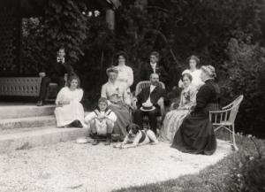 Maurice et famille 1900